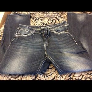 EC!Grace in LA, Easy Fit Jeans Size 32!